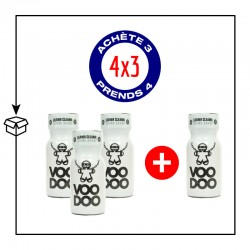 PACK 4 POPPERS VOODOO 13ML