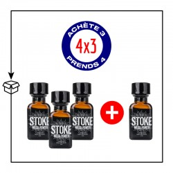 PACK 4 POPPERS STOKE 24ML