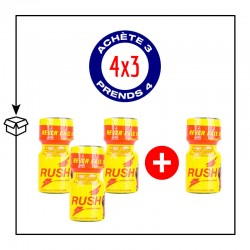 PACK 4 POPPERS RUSH PWD 9ML